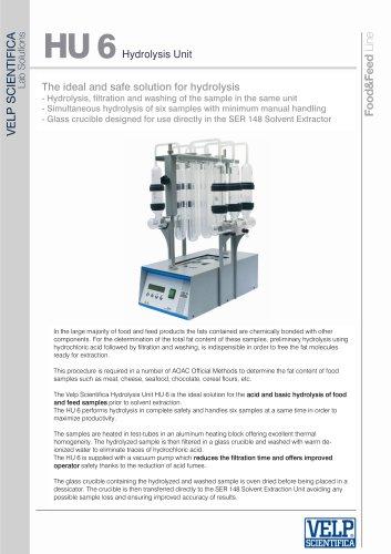 HU 6 Hydrolysis Unit