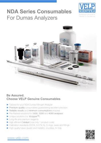 NDA Series Consumables For Dumas Analyzers