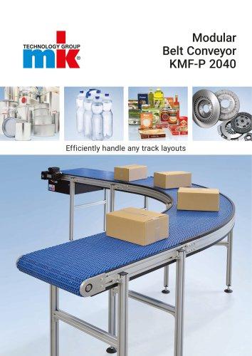 Modular Belt Conveyor KMF-P 2040