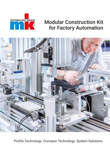 Modular Construction Kit for Factory Automation