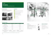 VA Series Three Phase Compact Industrial Vacuum Cleaner