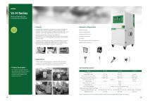VJ-H Series Manual Cleaning Industrial Dust Collector