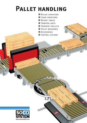 SOCO SYSTEM's pallet handling programme