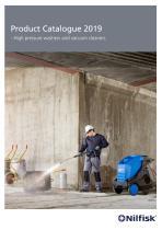 High pressure washers and vacuum cleaners