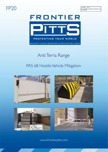 Anti Terra Range PAS 68 Hostile Vehicle Mitigation