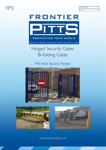 Hinged Security Gates Bi-folding Gates
