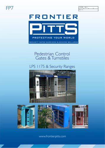 Pedestrian Control Gates & Turnstiles