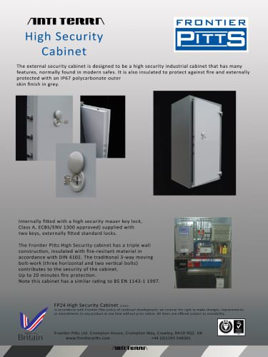Terra High Security Cabinet