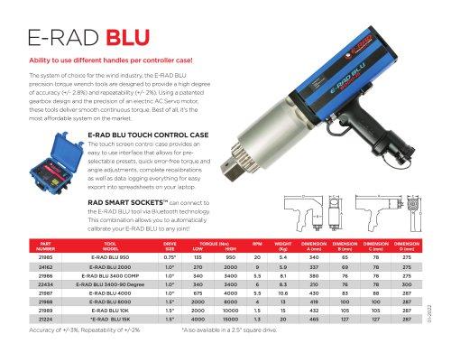 E-RAD BLU (Metric)