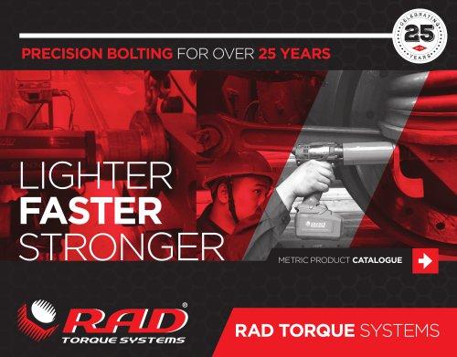 RAD Catalogue – Metric (2021)