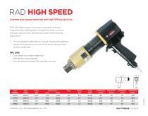 RAD High Speed (Metric)