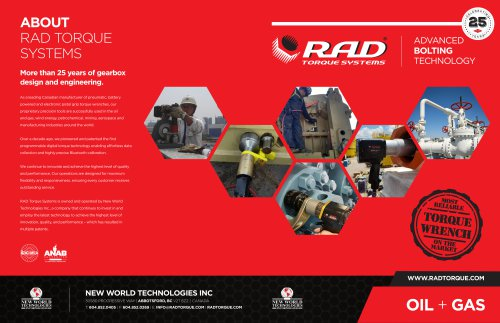 RAD Oil Brochure
