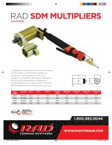 RAD SDM MULTIPLIERS - 1