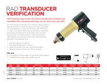 RAD Transducer Verification (Metric)