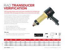 RAD Transducer Verification (Metric)