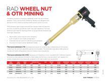 RAD Wheel Nut & OTR Mining (Metric)