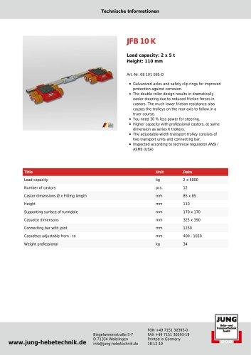 JFB 10 K Product Details
