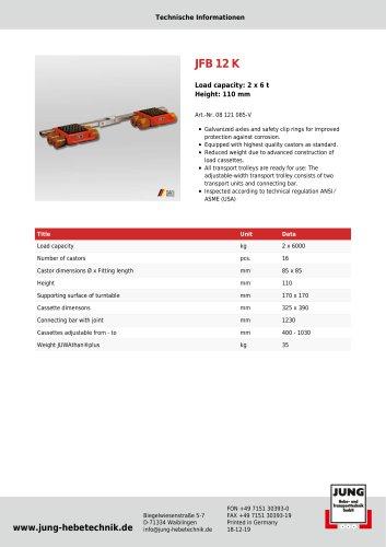 JFB 12 K Product Details