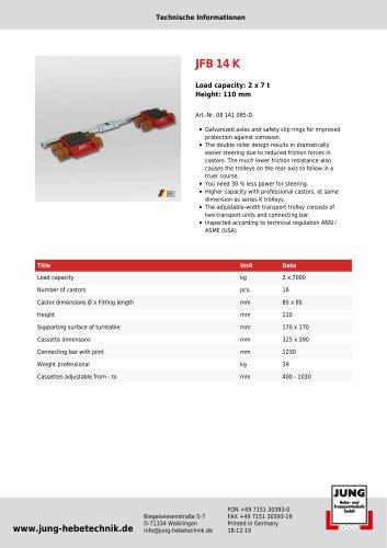 JFB 14 Product Details