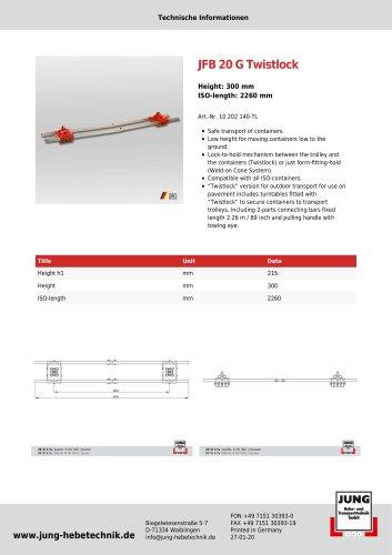 JFB 20 G TL - Product Details