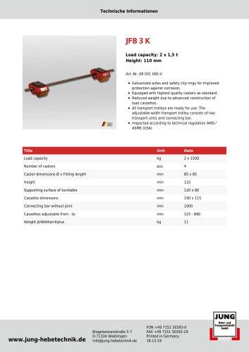 JFB 3 K Product Details