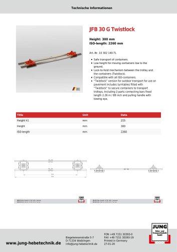 JFB 30 G TL Product Details