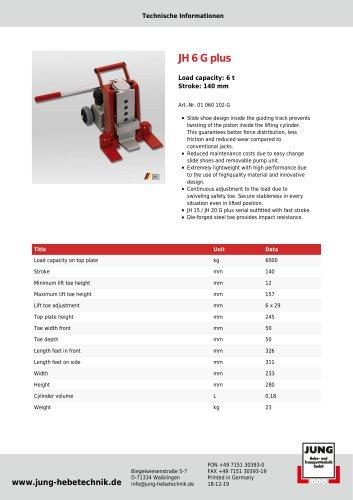 JH 6 G plus Product Details
