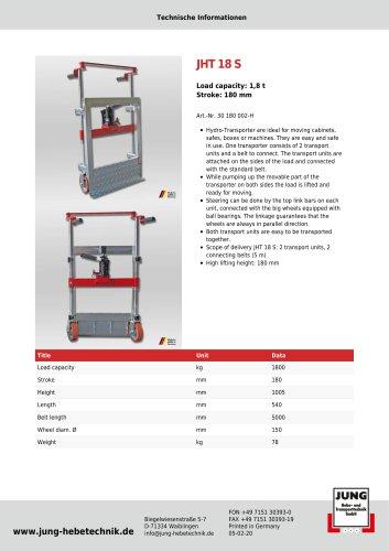JHT 18 Product Details