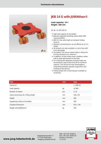 JKB 14 Product Details