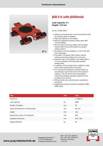JKB 6 Product Details