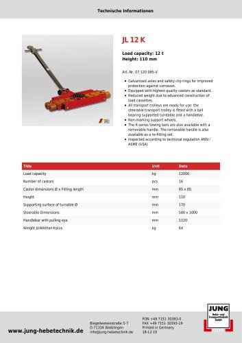 JL 12 K Product Details