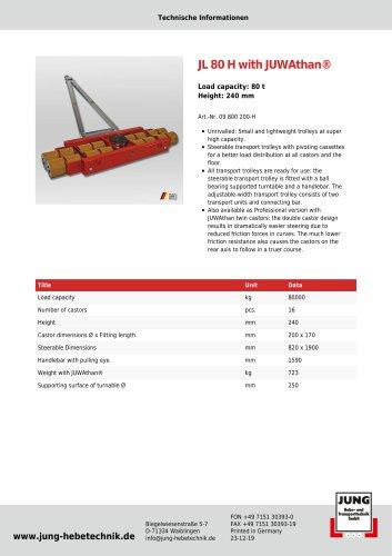JL 80 H Product Details