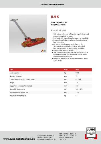 JL 9 K Product Details