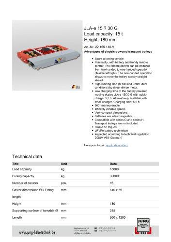 JLAe 15_30 Product Details