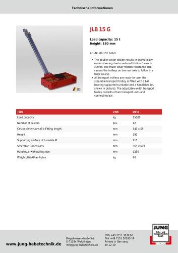 JLB 15 G Product Details