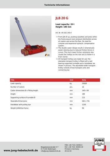 JLB 20 G Product Details