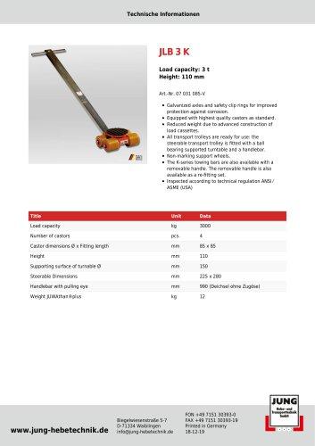 JLB 3 K Product Details