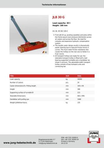 JLB 30 G Product Details