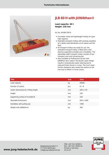 JLB 60 H Product Details