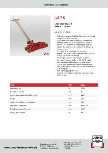 JLB 7 K Professional Product Details