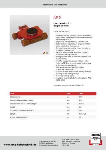 JLF 5 Product Details