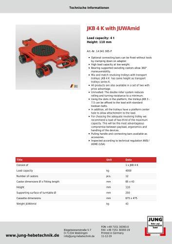 Product Details JKB 4