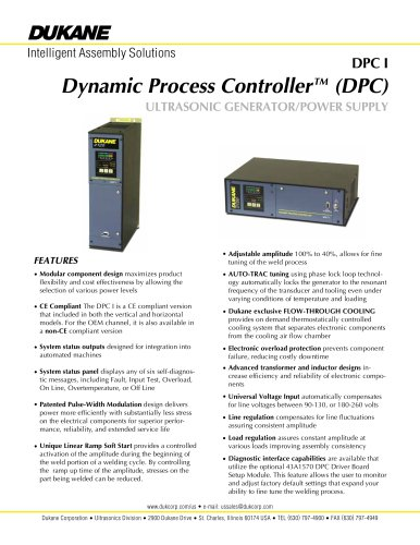 DPC I Dynamic Process Controller