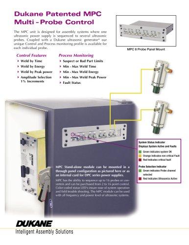 Dukane Patented MPC Multi - Probe Control