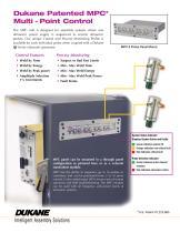 Dukane Patented MPC Multi-Probe Control