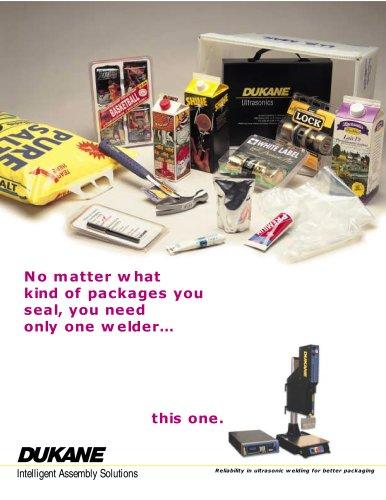 Dukane Ultrasonic Packaging Assembly