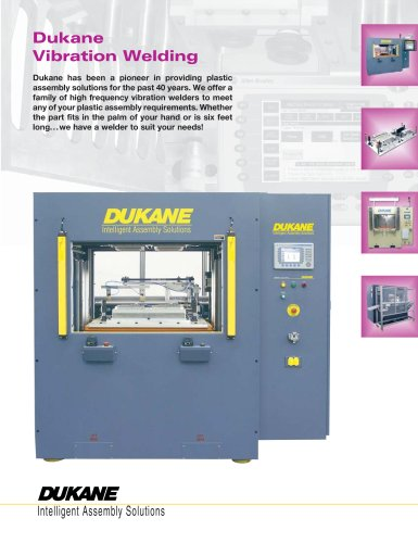 Dukane Vibration Welding