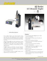 iQ Series EZ Ultrasonic Stapler