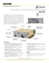 iQ Series Ultrasonic Automation Ready Power Supply