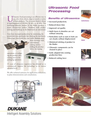 Ultrasonic Food Processing